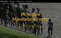 Thematische Seite über das Minsker Ghetto