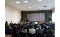 Публичная беседа с Борисом Поповым состоялась 31 января в средней школе г.п. Мир