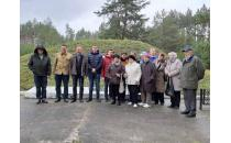 Gedenkfahrt zu Gedenkstätten in Haradzieja und Stoubzy
